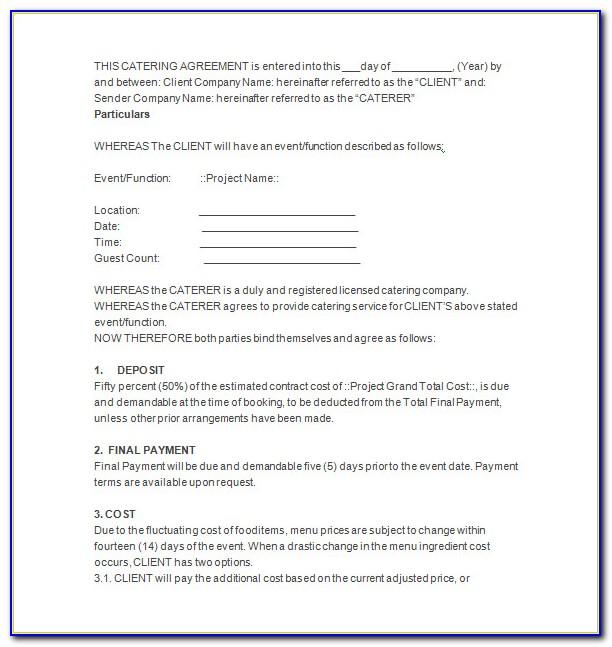 Microsoft Word Commercial Lease Template
