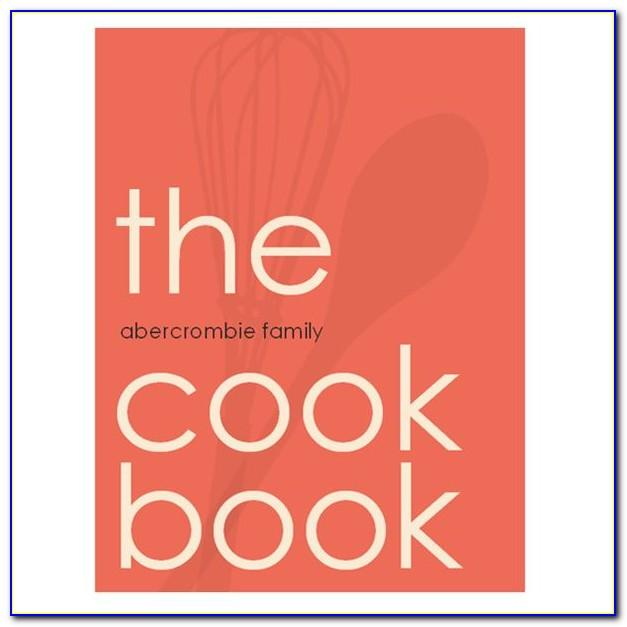 Microsoft Word Cookbook Template Mac