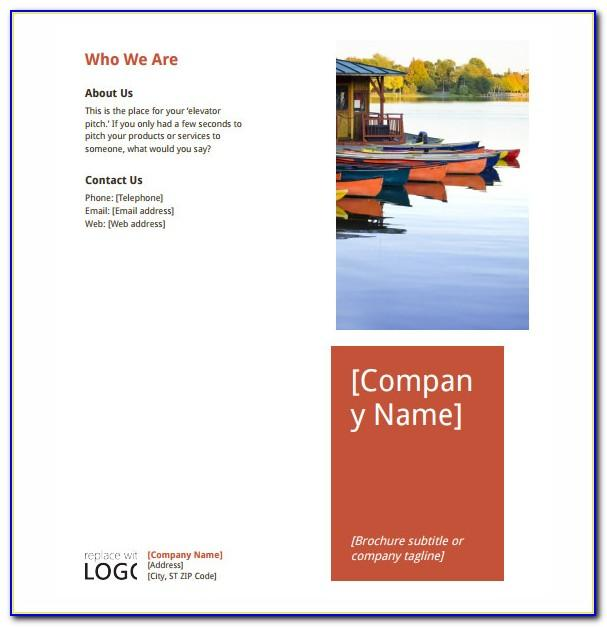 Microsoft Word Free Templates For Brochures