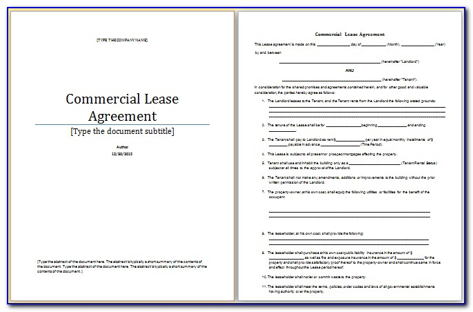 Microsoft Word Liability Waiver Template