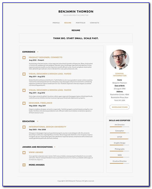 Modern Resume Templates 2015