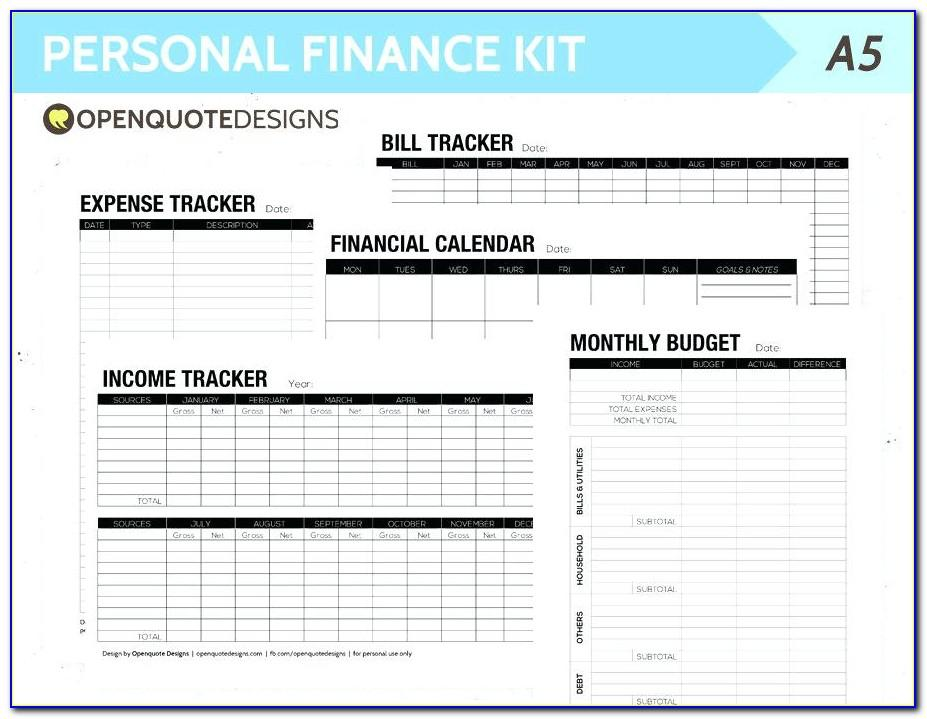 Monthly Budget Planner Template Australia
