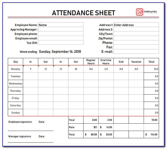 Monthly Shift Schedule Calendar Template
