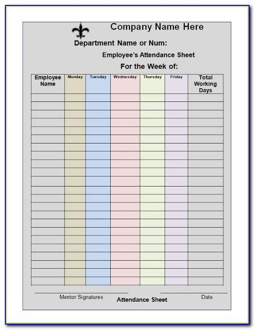 Monthly Work Plan Template Doc