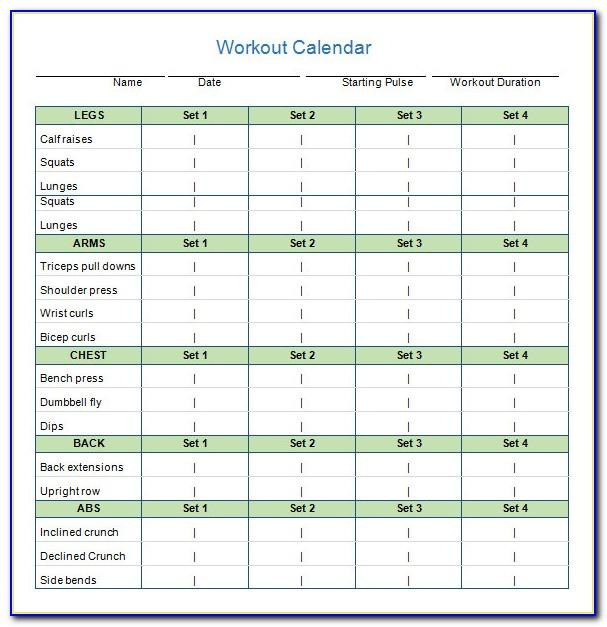 Monthly Work Plan Template Word