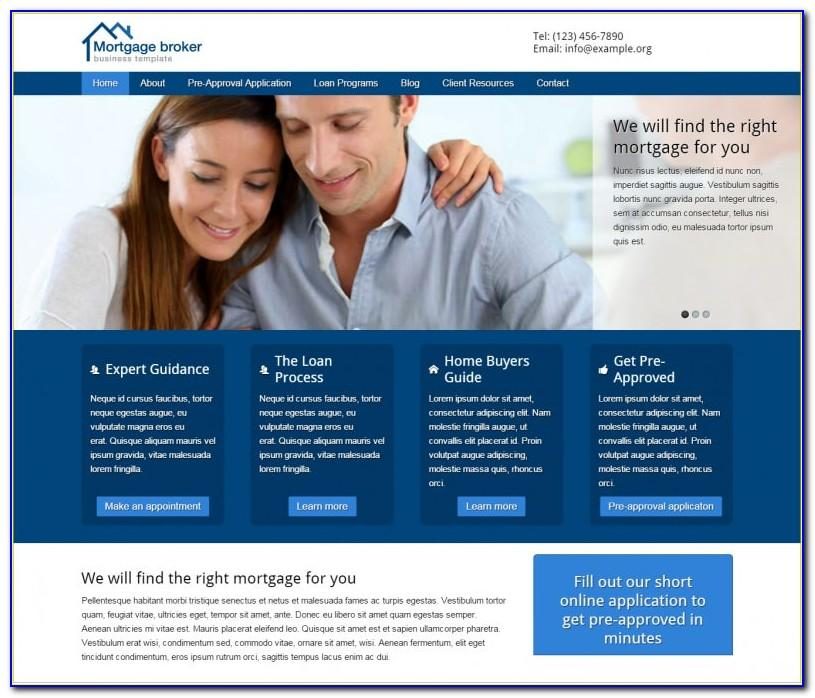 Mortgage Broker Agreement Template