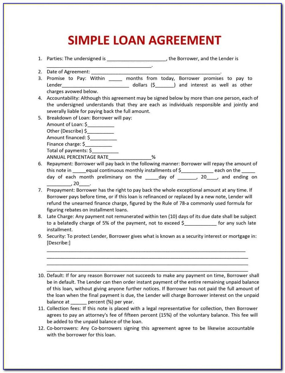 Mortgage Document Template Australia