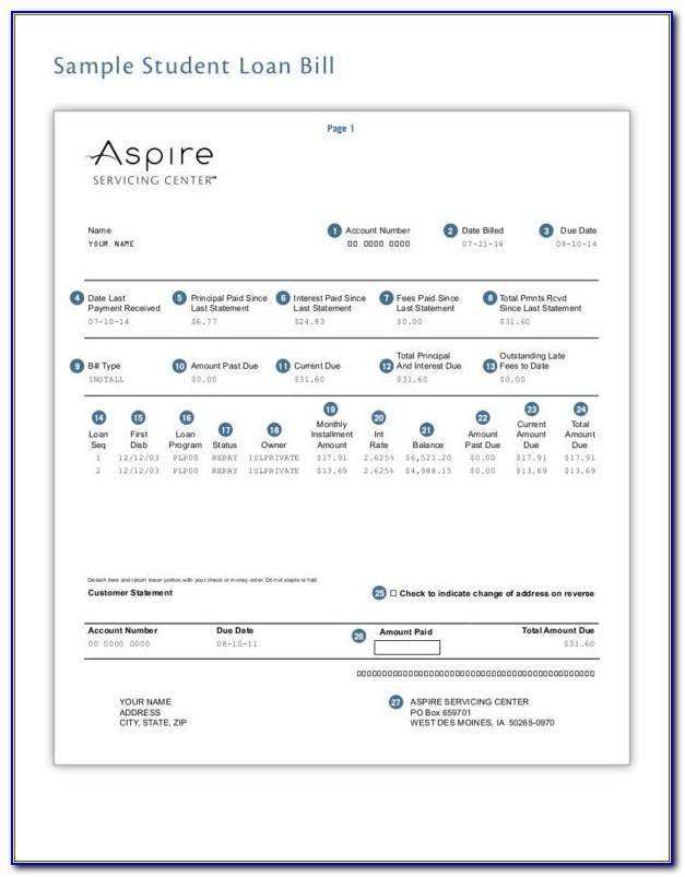 Mortgage Statement Template Freeware