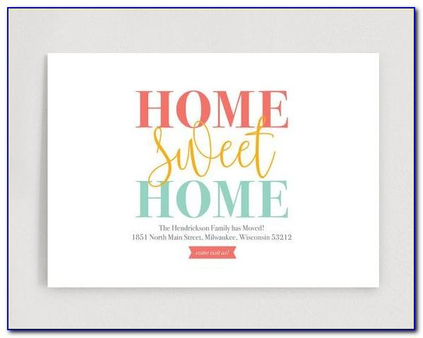 Moving House Invitation Template