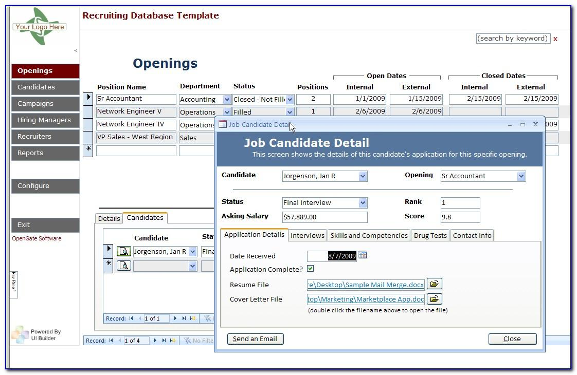 Ms Access Construction Estimating Template