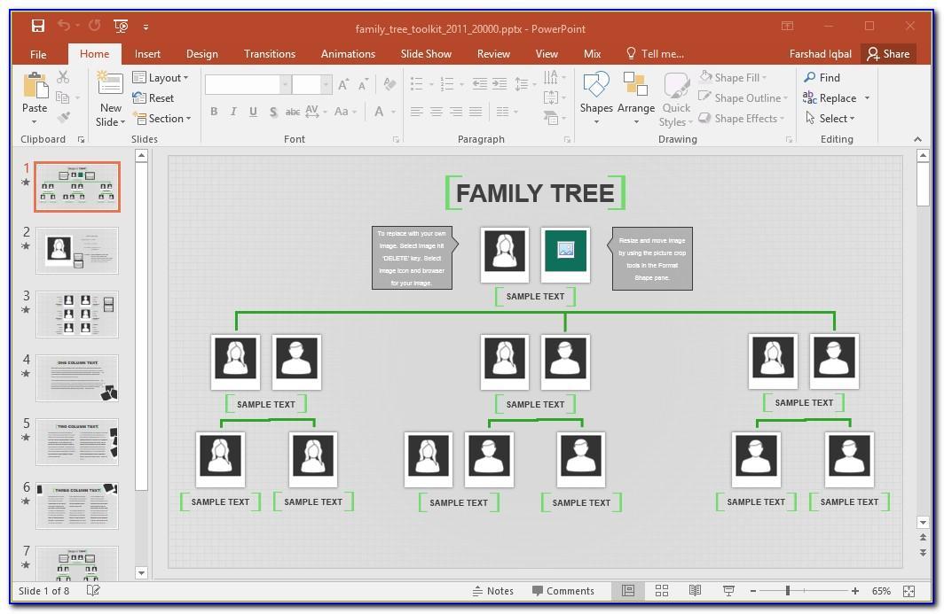 Ms Powerpoint Gantt Chart Template