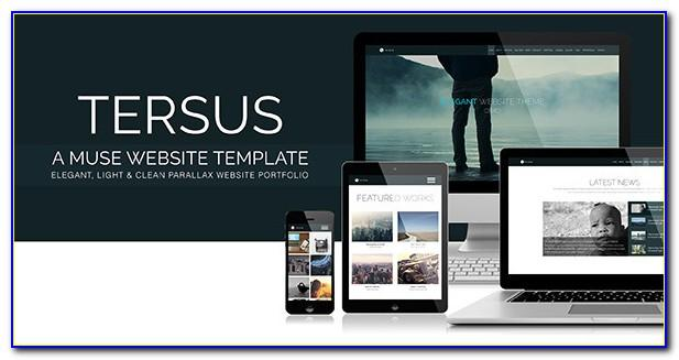 Muse Responsive Theme Free