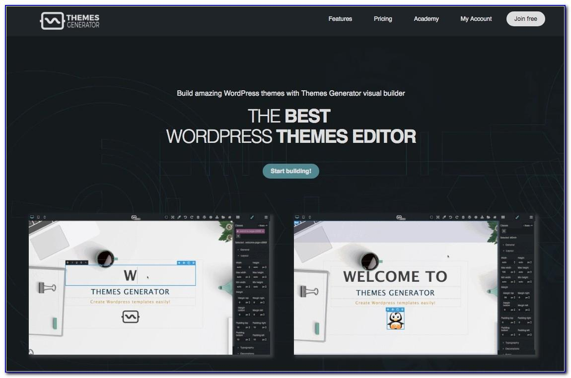 Muse Themes Responsive Free