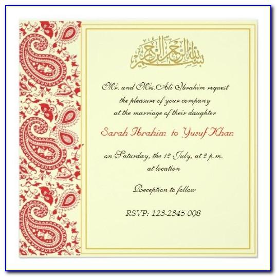 Muslim Wedding Invitation Video Maker