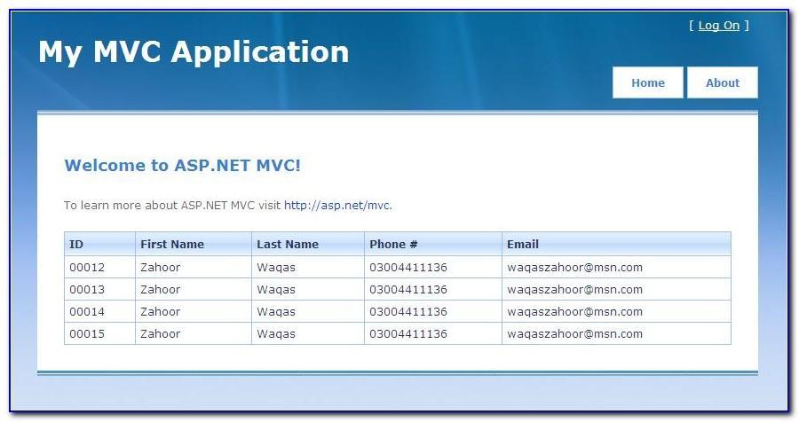 Mvc Web Templates Free Download