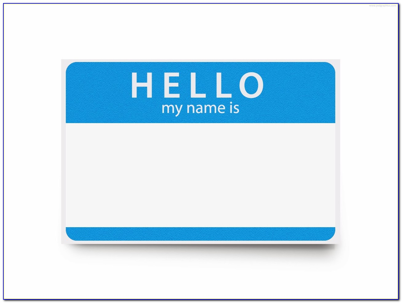 Name Badge Template Avery 5395