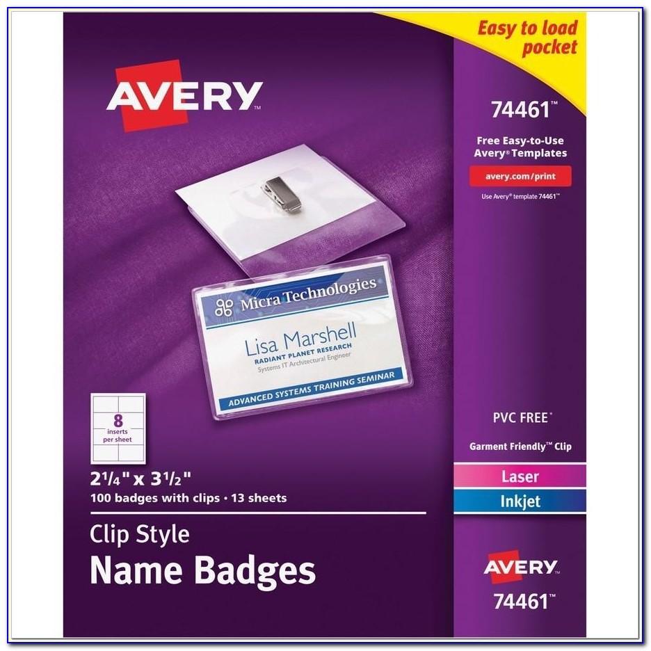 Name Badges Templates Free