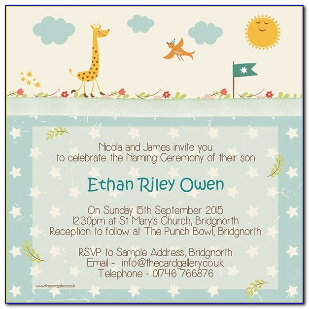 Naming Ceremony Invitation Card Format In Marathi