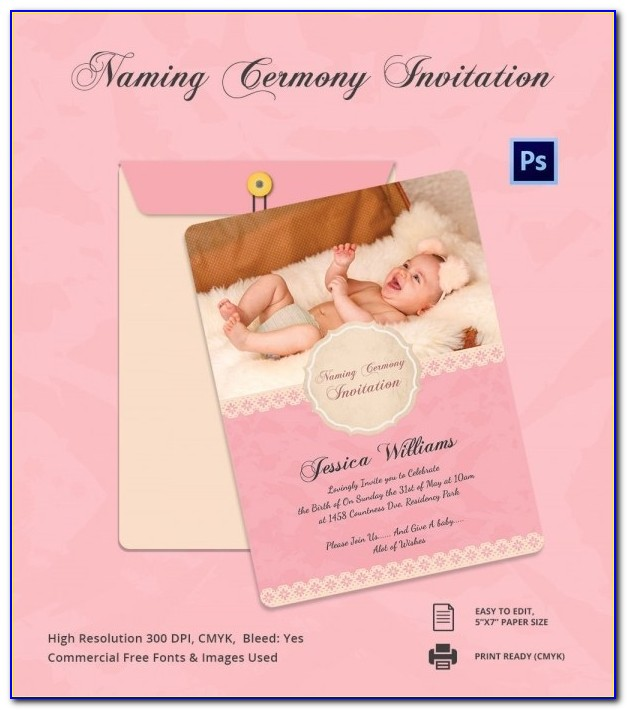 Naming Ceremony Invitation Format In Marathi