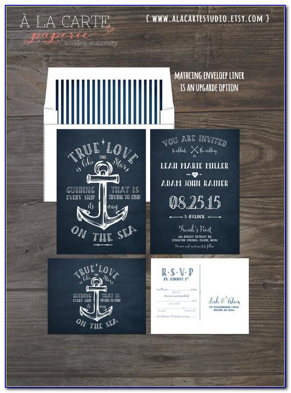 Nautical Themed Invitation Templates Free