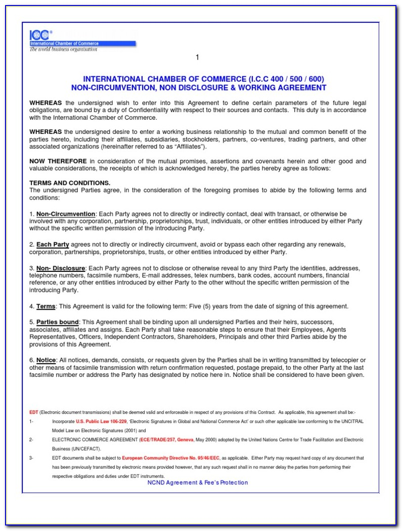 Nc Separation Agreement Template
