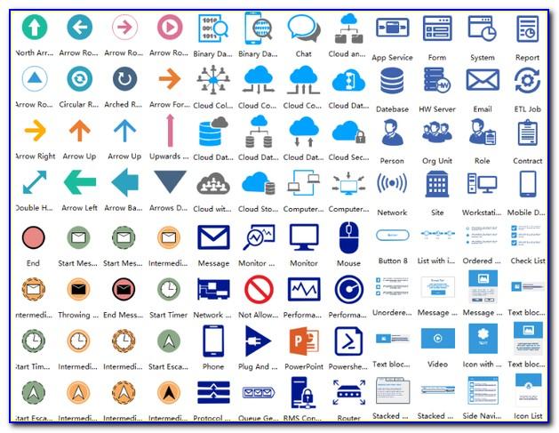 Network Cloud Visio Stencil Download