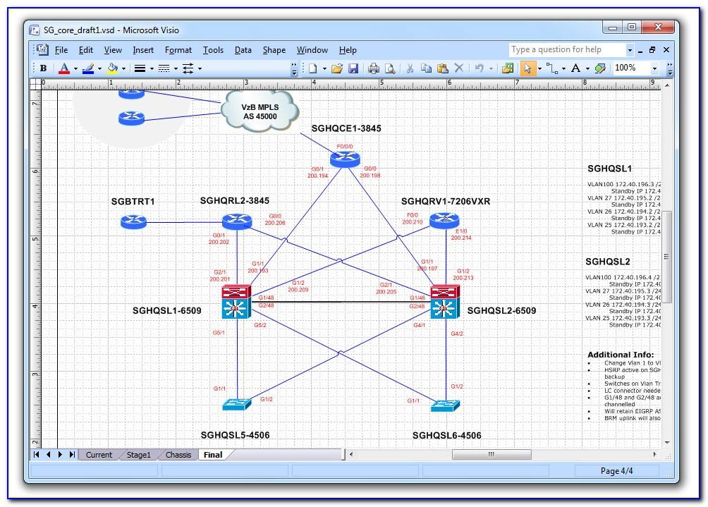 Network Diagram Stencils Visio 2013
