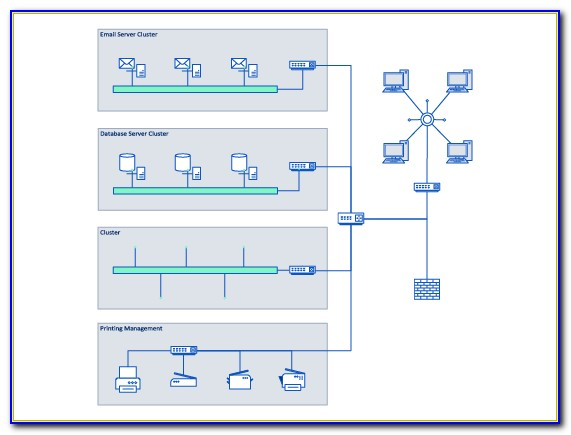 Network Topology Visio Stencils 3d