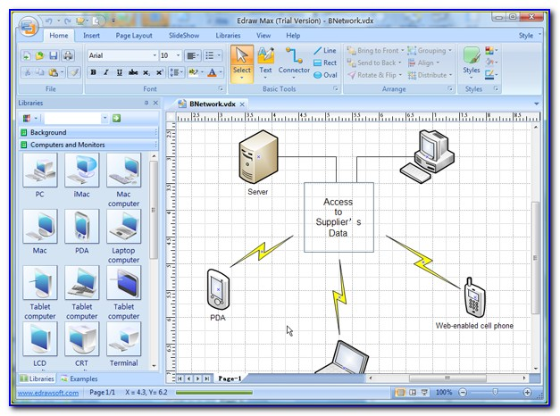 Network Visio Shapes Download