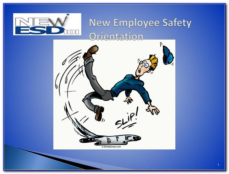 New Employee Safety Orientation Powerpoint Presentation