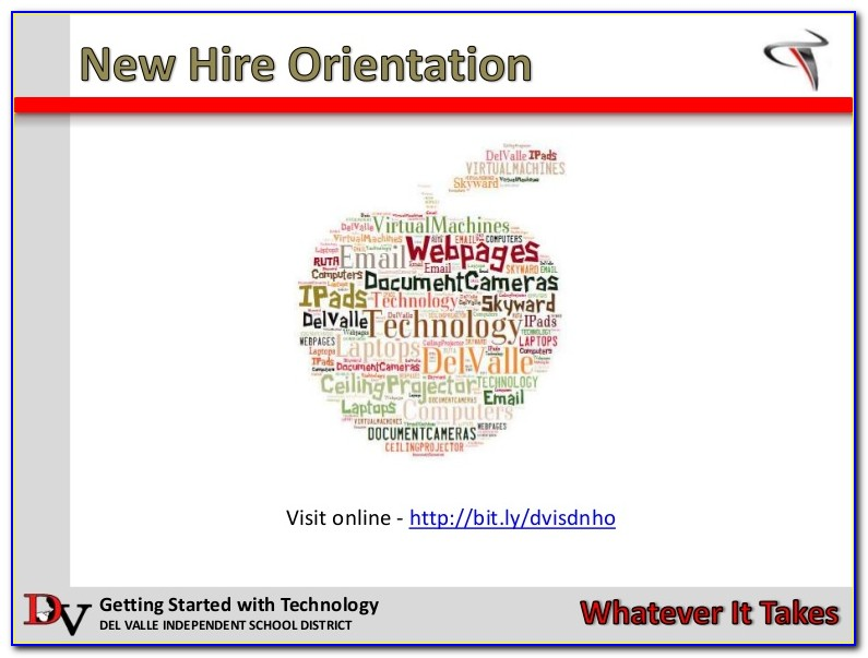 New Hire Orientation Forms