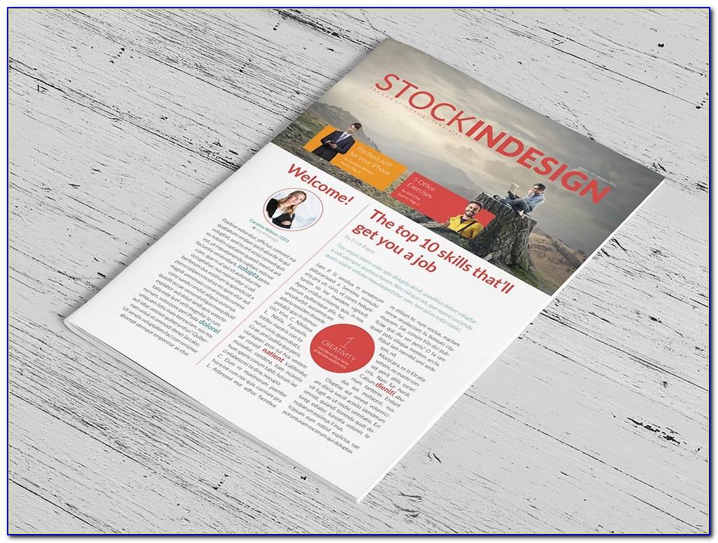 Newsletter Design Templates Psd Free Download