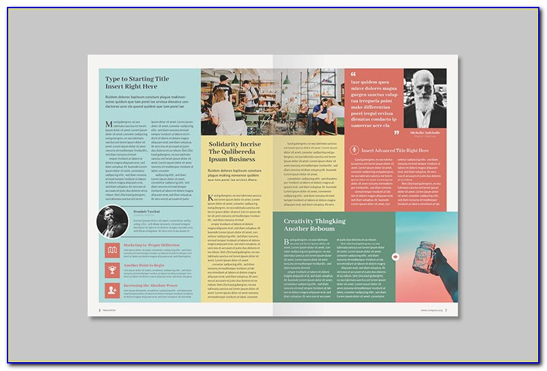 Newsletter Format Template Free
