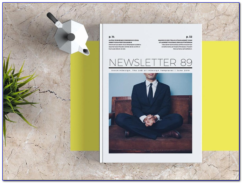 Newsletter Template Indesign Free Download