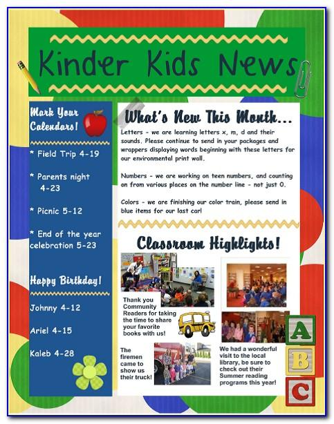 Newsletter Templates For Microsoft Publisher Free Download