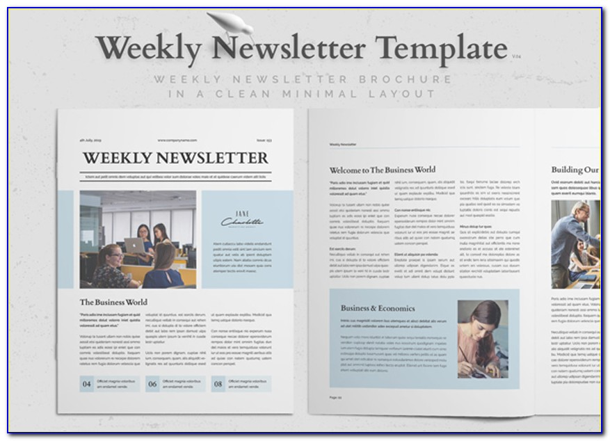 Newsletter Templates Free Download Publisher