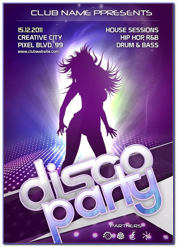 Nightclub Flyer Templates Photoshop