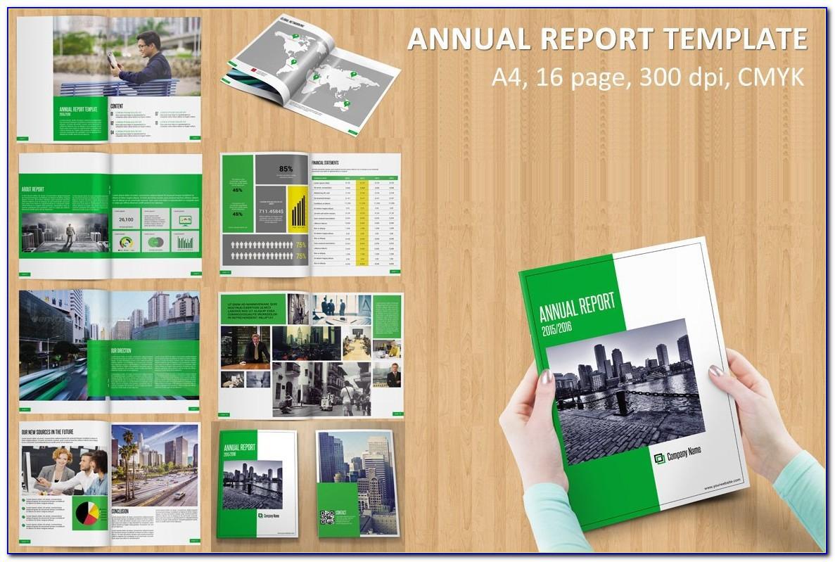 Nonprofit Annual Report Format