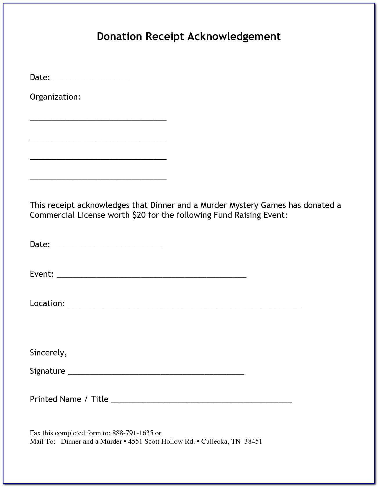 Nonprofit Fundraising Letter Template