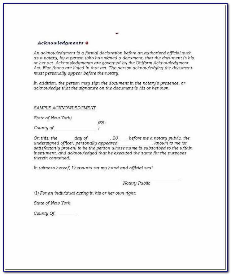 notary public forms ny