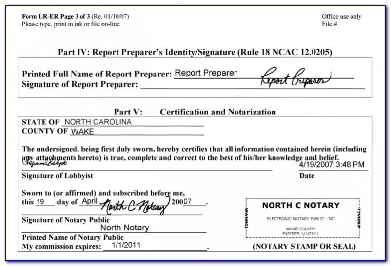Notary Public Letters Samples
