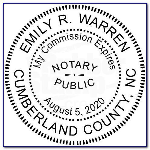 Notary Public Sample Documents Florida