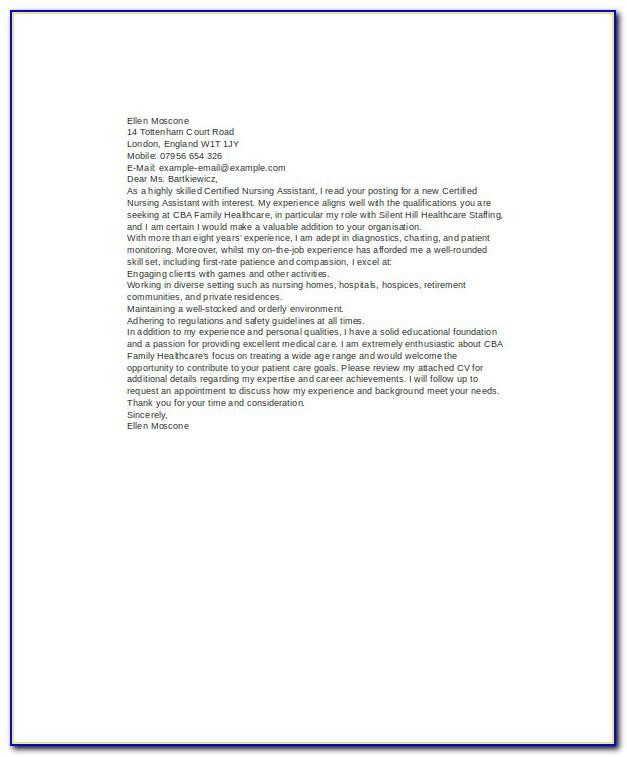 Nurses Resume Format Free Download