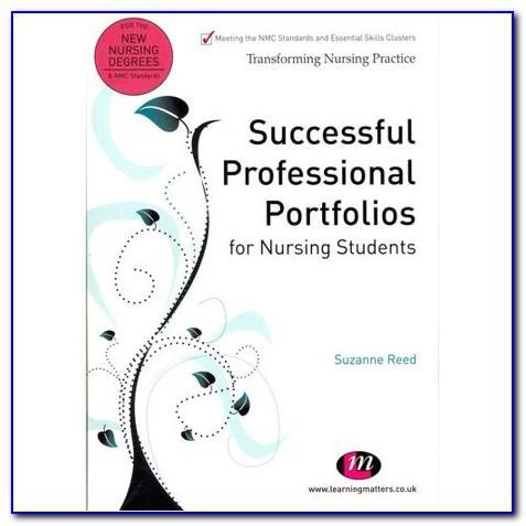 Nursing Portfolio Template Australia