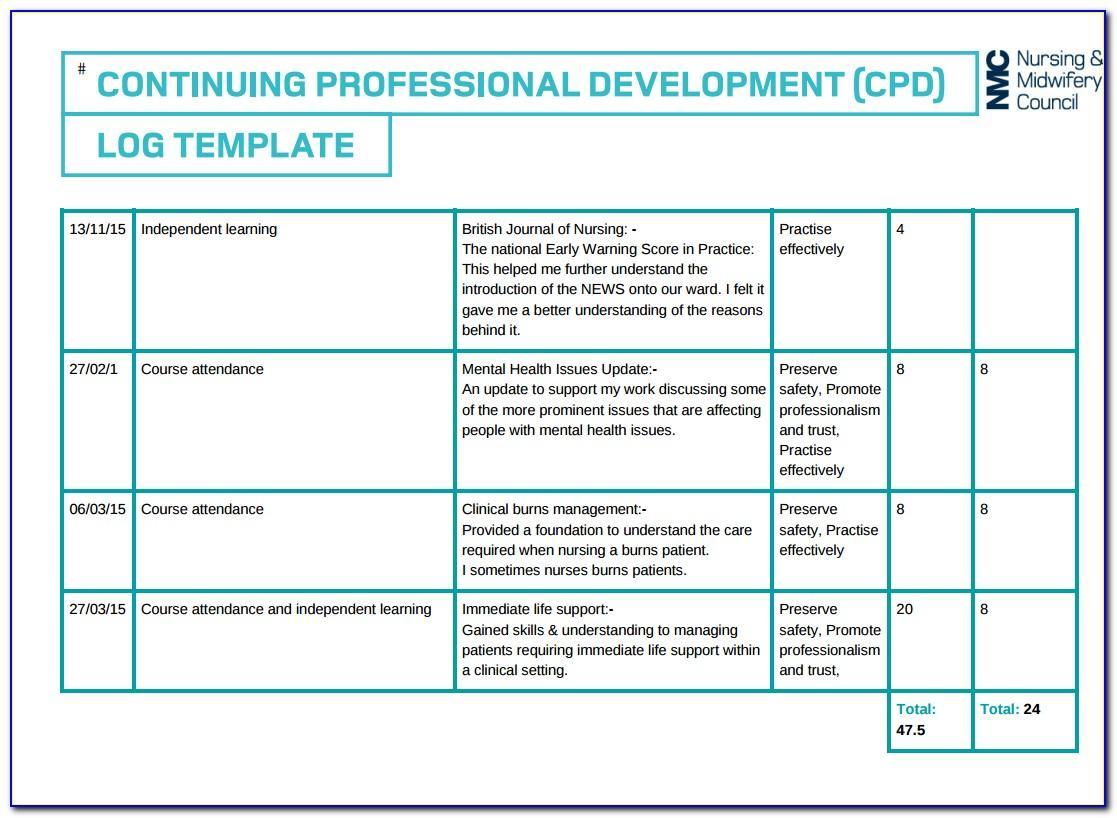 Nursing Portfolio Templates Free