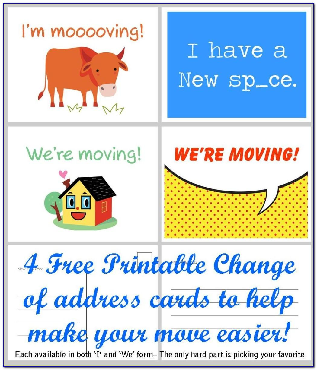 Office Moving Announcement Free Template