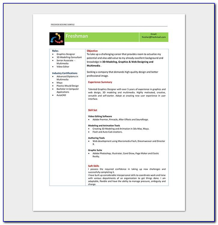 Resume Format For Experienced Diploma In Mechanical Engineering