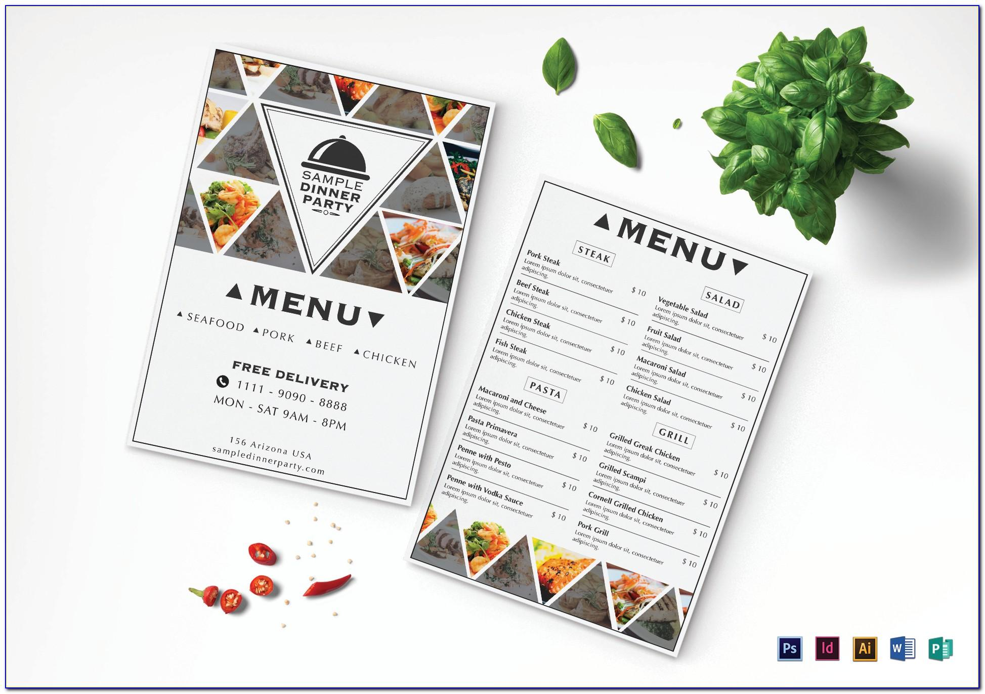 Website Menu Design Templates Free Download