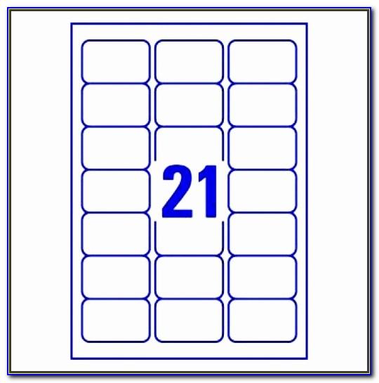 24 Labels Per Sheet Template Excel