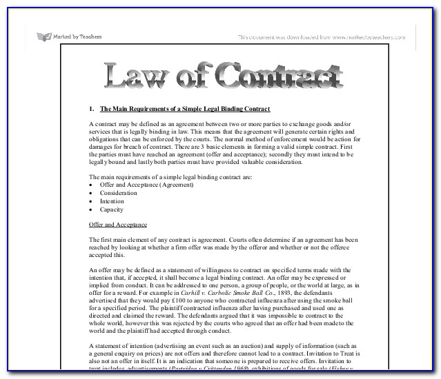 3 Examples Of Legally Binding Contract Terms Apprenticeships